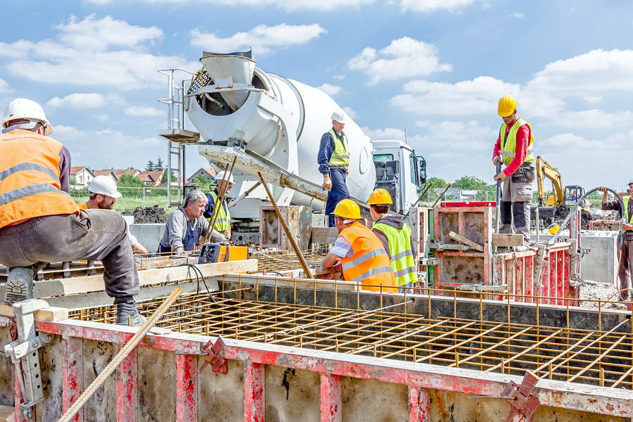 professional concrete pouring services