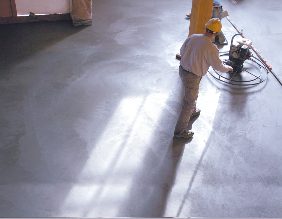 professional concrete flooring services